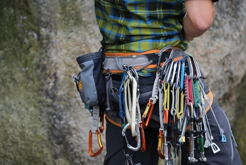 Beginner rock climbing essentials.