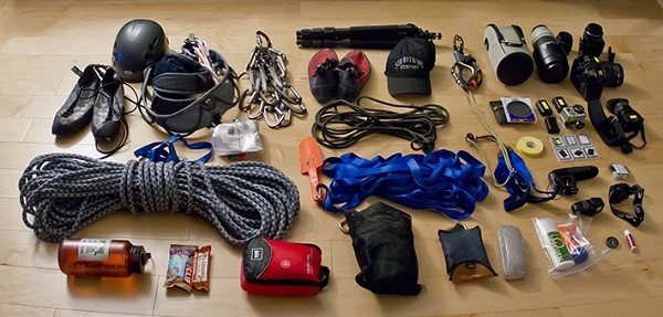Climbing essentials.