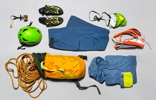 Different Climbing Gear